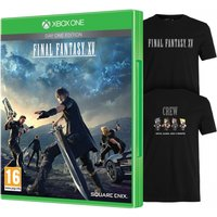 Final Fantasy XV Day One Edition Xbox One Game (Bonus DLC + Exclusive T-Shirt)