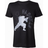 Capcom Street Fighter IV Hadoken Mens Small Black T-Shirt