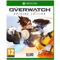 Overwatch Origins Edition Xbox One Game (Noire Widow Maker Skin DLC)