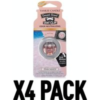 Pink Sands (Pack Of 4) Yankee Candle Smart Scent Vent Clip