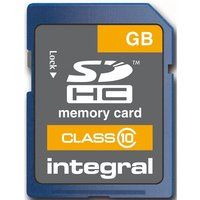 Integral INSDH32G10 Secure Digital SD Card 32GB Class 10