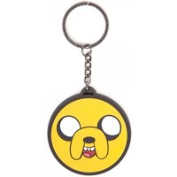 Adventure Time Jake Face Rubber Keychain