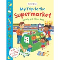 My Trip to the Supermarket Activity and Sticker Book