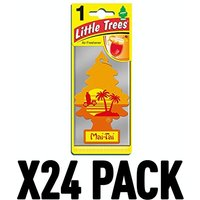 Mai-Tai (Pack Of 24) Little Trees Air Freshener