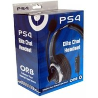 'Orb Elite Gaming Chat Headset Ps4 Damaged