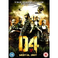 D4 Mortal Unit DVD