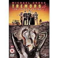 Tremors 4 The Legend Begins DVD
