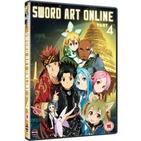 Sword Art Online Part 4 Episodes 20-25 DVD