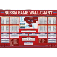 Russia Wall Chart 2018 Maxi Poster