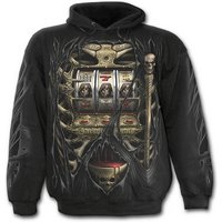 Jackpot Death Men's Medium Hoodie - Black