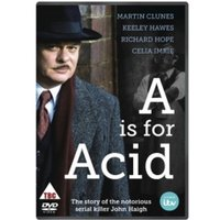 A Is For Acid DVD