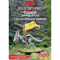 Dungeons & Dragons Collector's Series Tomb of Annihilation Miniature Chultan Dinosaur Warrior