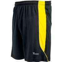 Precision Real Shorts 42-44 inch Black/Yellow