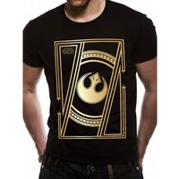 Star Wars VIII The Last Jedi - Jedi Badge Men's Medium T-Shirt - Black