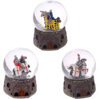 Mounted on Horseback Knight Snow Globe (1 Random Supplied)