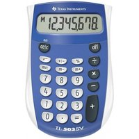 Texas Instruments 503SV/FBL/11E1 TI503SV Pocket Calculator with Large Display