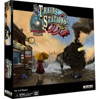 Trains & Stations Strategy Board Game