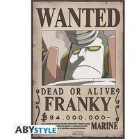 One Piece - Wanted Franky New Small Poster