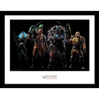 Quake Champions Group Framed Collector Print