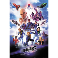 Thunderbirds are Go Key Art Maxi Poster