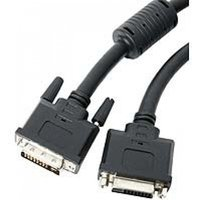 StarTech 6 ft DVI-I Dual Link M-F Digital/Analog Extension Cable