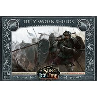 A Song of Ice & Fire: Tabletop Miniatures Game - Tully Sworn Shields Expansion Board Game