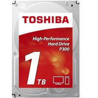 Toshiba P300 High Performance 1TB Internal Hard Drive (Bulk) 3.5 Inch SATA