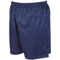 Image of Precision Micro-stripe Football Shorts 30-32 inch Navy Blue