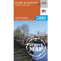 Rugby and Daventry, Southam and Lutterworth by Ordnance Survey (Sheet map, folded, 2015)