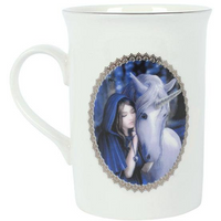 Solace Mug By Anne Stokes