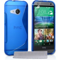 Caseflex HTC One Mini 2 S-Line Gel Case - Blue