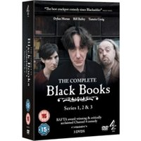 Black Books Series 1-3 DVD
