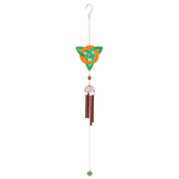 Orange and Green Pendant Windchime