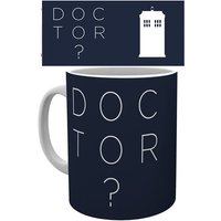 Doctor Who Doctor Who Type Mug