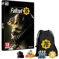 Fallout 76 PC Game + Exclusive Pin Badge Set