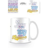 Lyrics by Lennon & McCartney - Lucy In The Sky With Diamonds Mug