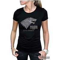 Game Of Thrones - Winter Is Coming Women's Small T-Shirt - Black