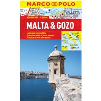 Malta & Gozo Marco Polo Holiday Map by Marco Polo (Sheet map, folded, 2013)