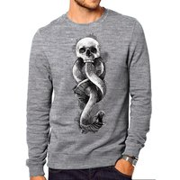 Harry Potter - Dark Art Snake Crew Men's Small Sweatshirt - Grey