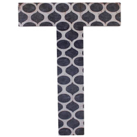Letter T Wall Plaque