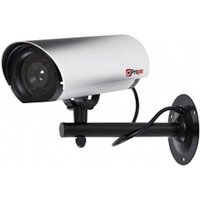 Proper Imitation Camera Aluminium With LED Light Commercial Series Silver