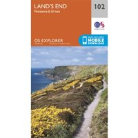 Land's End, Penzance and St Ives : 102