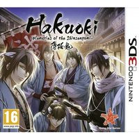 Hakuoki Memories of the Shinsengumi Limited Collector's Edition Game 3DS