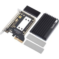 Aqua Computer kryoM.2 evo PCIe 3.0 x4 adapter for M.2 NGFF PCIe Solid State Drive