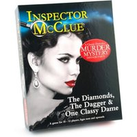 Ex-Display Inspector McClue The Diamonds The Dagger & One Classy Dame Murder Game