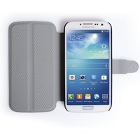 YouSave Accessories Samsung Galaxy S4 Leather-Effect Stand Case - White
