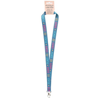 Peace and Love Lanyard Pack Of 12