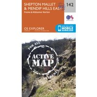 Shepton Mallet and Mendip Hills East by Ordnance Survey (Sheet map, folded, 2015)