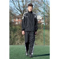 Precision Ultimate Tracksuit Trousers Black/Silver/White 22-24