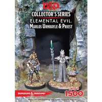 Dungeons & Dragons Collector's Series Princes of the Apocalypse Miniature Marlos Urnrayle & Earth Priest